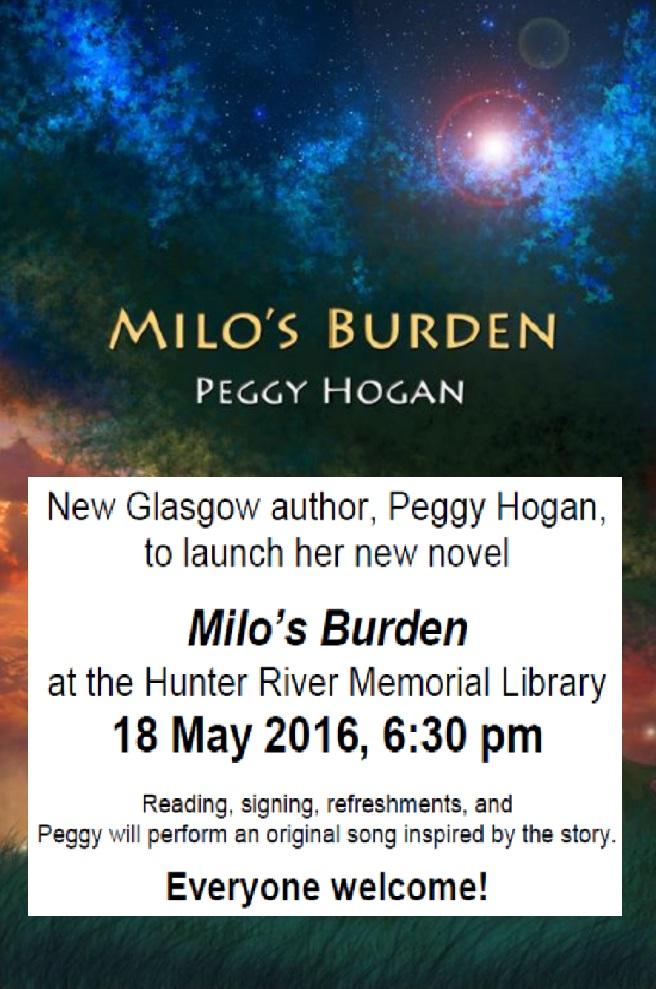 Milos Burden - Peggy Hogan