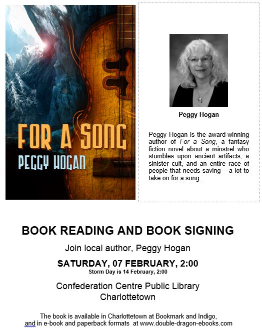 Book Reading and Signing by New Glasgow Author