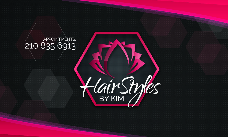 HarstylesbyKim-Business Card-Front
