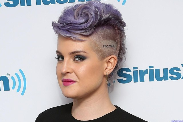 kelly osbourne hairstyle – new hair now