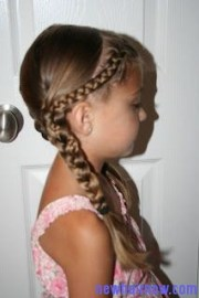 girls school time hairstyles