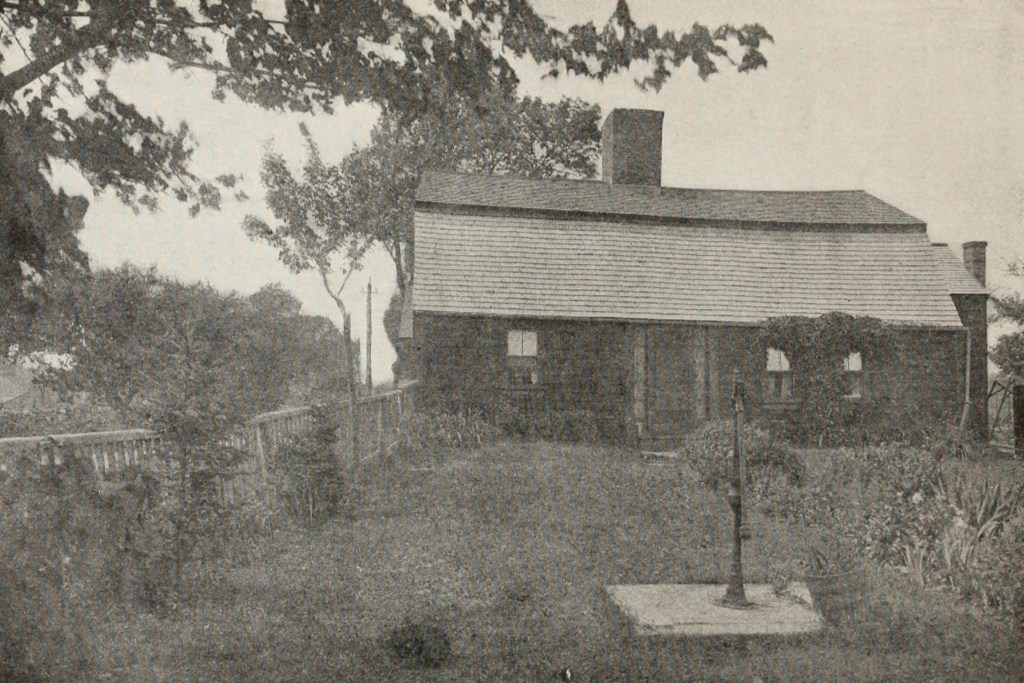 Garrison House of Capt. Jonathan Chesley, Built in 1716