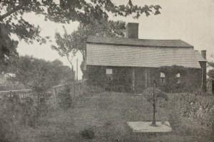 Garrison House of Capt. Jonathan Chesley, Built in 1716 Later the residence of Samuel Jones