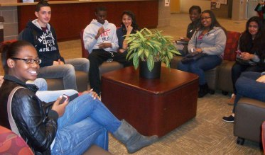 Seniors visit Fairfield University