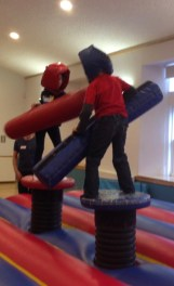 Inflatables duel