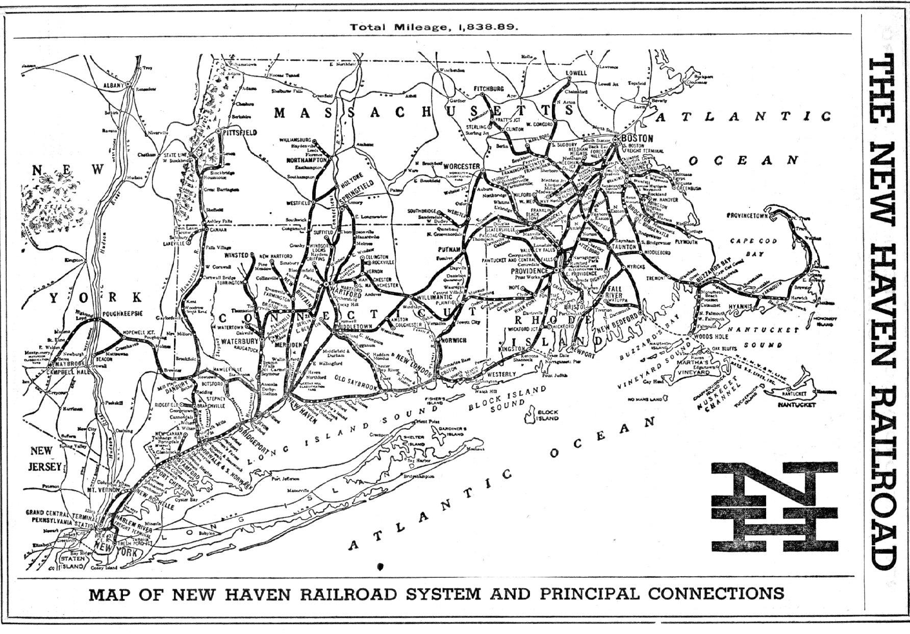 Fantasy Map Passenger Rail System For Connecticut