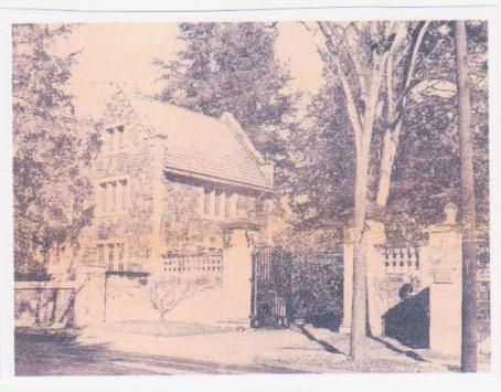 Period photograph of the Gatehouse