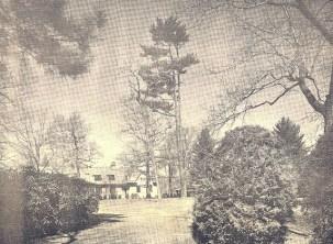 Period landscape view of Edgerton