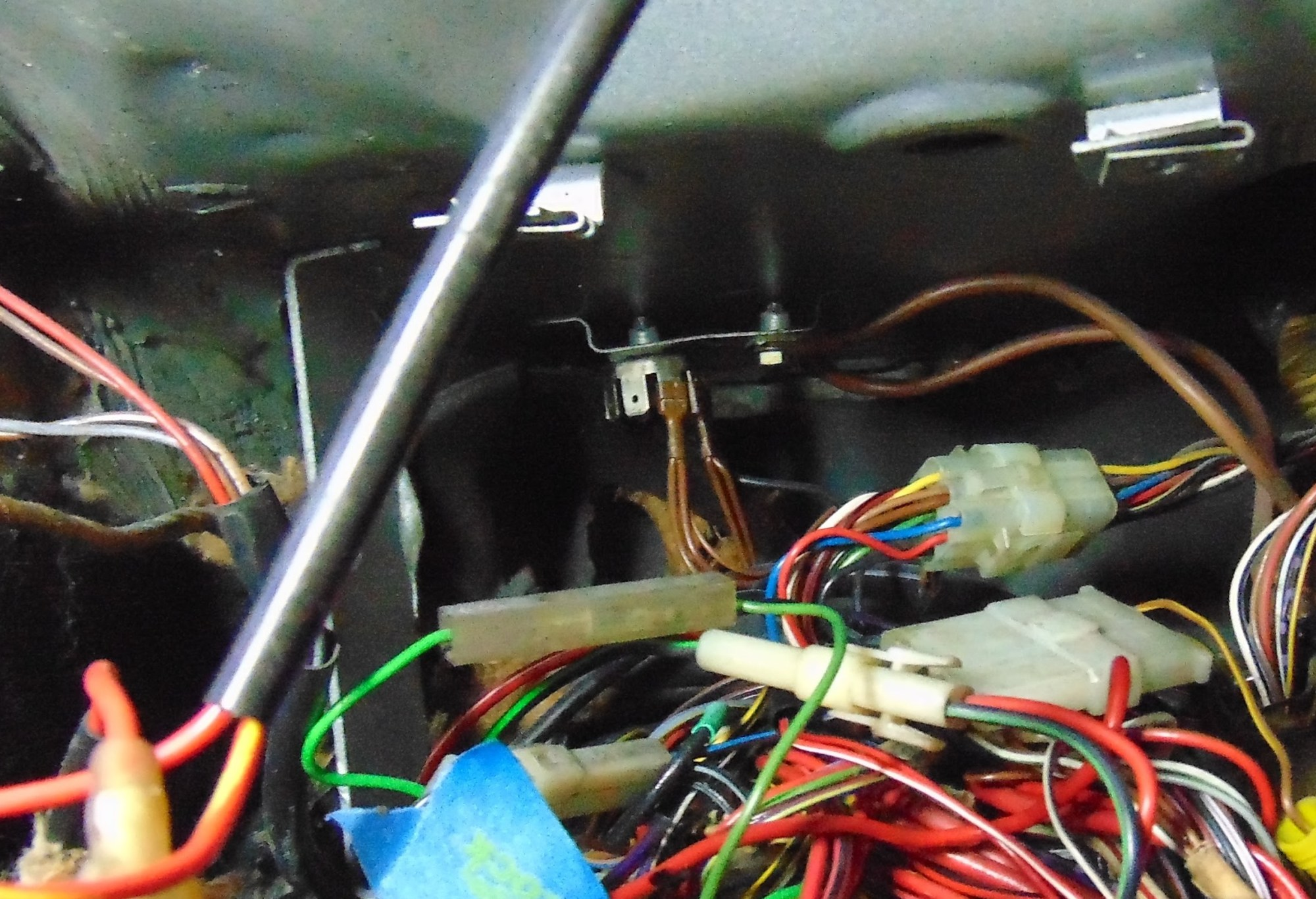 hight resolution of before reinstalling the dash i attempted to identify and perform a functional check on all the required circuits in particular those terminating at the