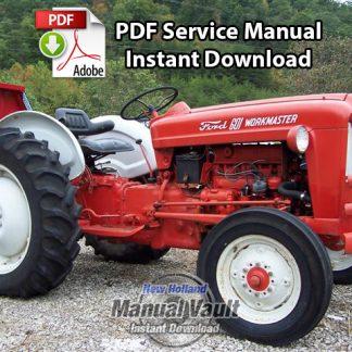 Ford 455D, 555D, 575D, 655D, 675D Backhoe Loader Tractor Repair