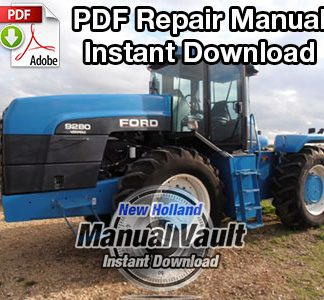 Ford 9280, 9480, 9680, 9880, 9282, 9482, 9682, 9882 Tractor Repair Manual