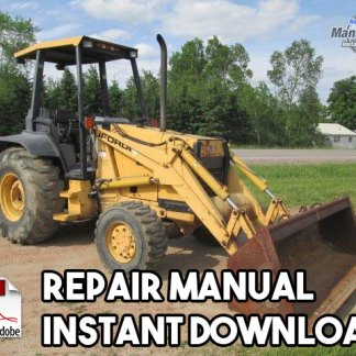 Ford 455D, 555D, 575D, 655D, 675D Backhoe Tractor Repair Manual