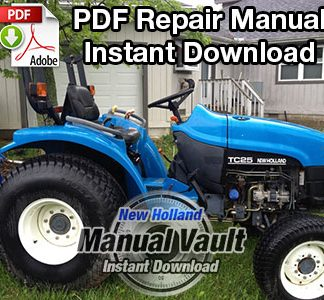New Holland 1530, 1630, 1725, 1925, TC25, TC29, TC33