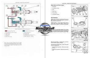 New Holland 555E, 575E, 655E, 675E Backhoe Repair Manual