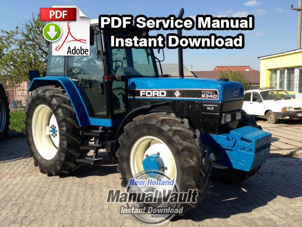 Free Manual New holland 8240