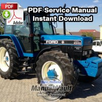 Ford 5640, 6640, 7740, 7840, 8240, 8340 Tractor Service Manual