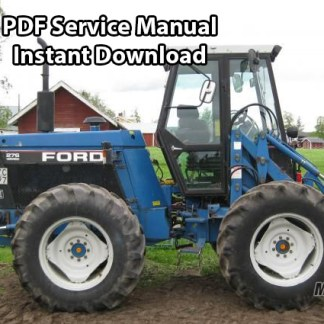 Ford 256, 276, 276 II Versatile Tractor Service Manual