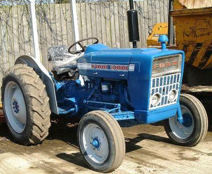 1965-1975 Ford 2000, 3000, 4000, 5000, 7000 Tractor Repair Manual