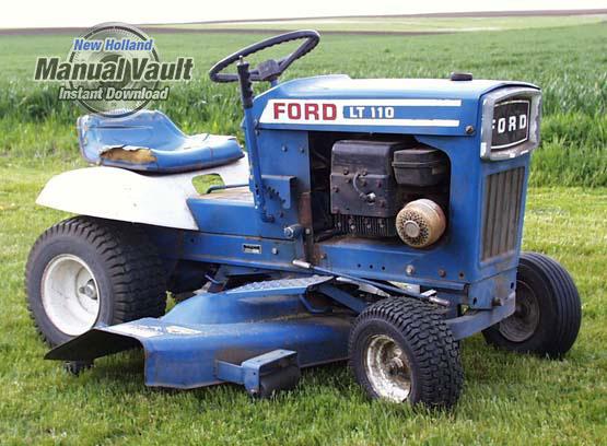 Ford Lawn Tractor Attachment Repair Manual