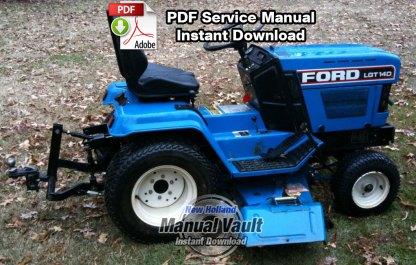 Ford LGT 14D, 16D Diesel Tractor Shop Repair Manual