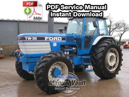 Ford TW5, TW15, TW25, TW35 8530, 8630, 8730, 8830 Service Manual