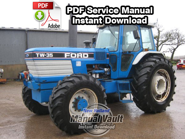 Ford TW5, TW15, TW25, TW35 8530, 8630, 8730, 8830 Service Manual