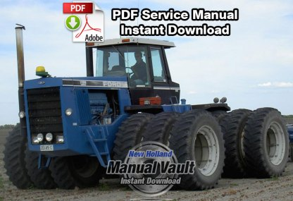 Ford Versatile 1156 Tractor Service Manual (2 Volumes)