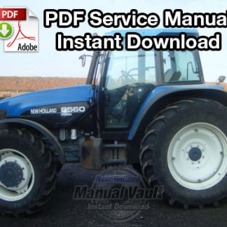 New Holland 8160, 8260, 8360, 8560 Tractor Service Manual