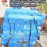 Ford Tractor Diesel Engine Diagnostic Manual