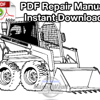 Ford CL25 Skid Steer Loader Repair Manual
