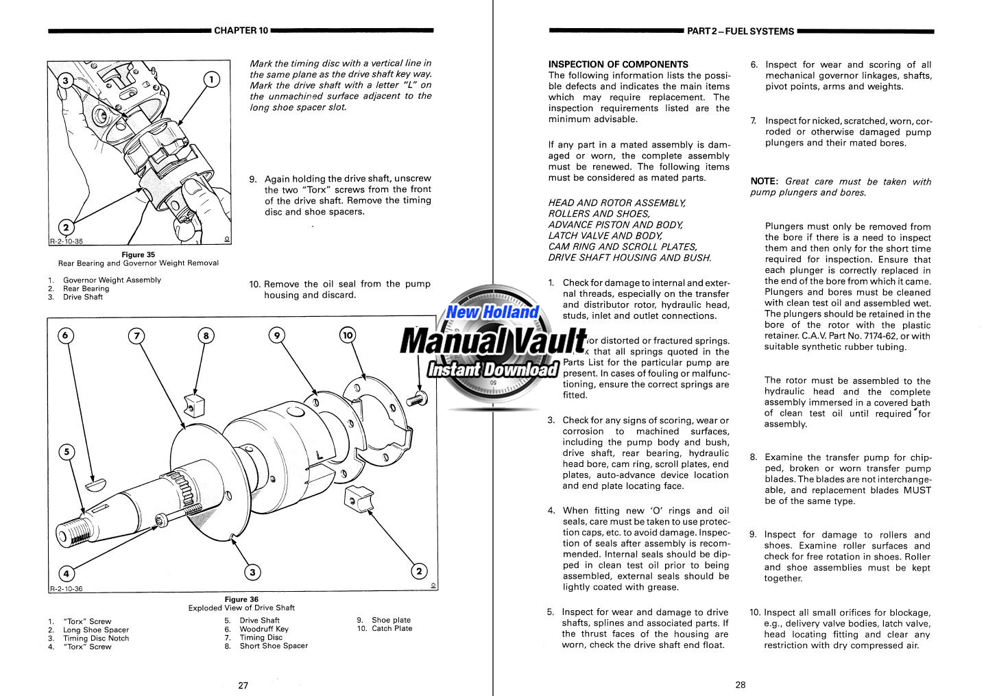 ford 2910  3910  4110  4610  5610  6610  6710  7610  7710 1984 2910 Ford Tractor Diesel ford 2910 service manual pdf
