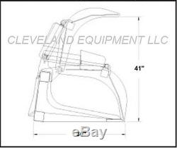 84 GRAPPLE BUCKET SKID STEER LOADER TRACTOR ATTACHMENT