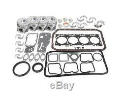 Case 580M Series 2 Backhoe Loader Engine Overhaul Kit for