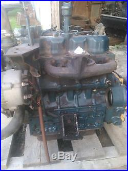 New Holland L555 Skid Steer Engine Assembly Kubota Model