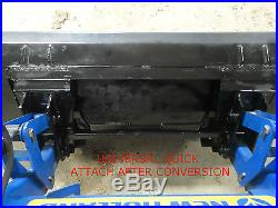 Skid Steer Quick Attach Adapter Assembly Case New Holland