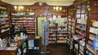 An old fashioned chemist's shop