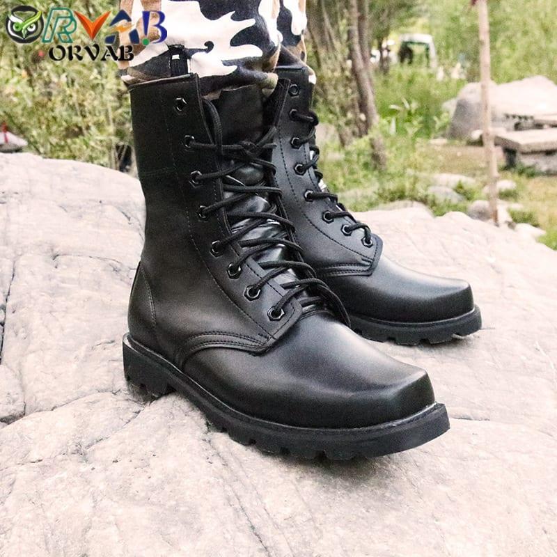 Brand New Girls Fashion Military Combat Winter  Boots 8-4