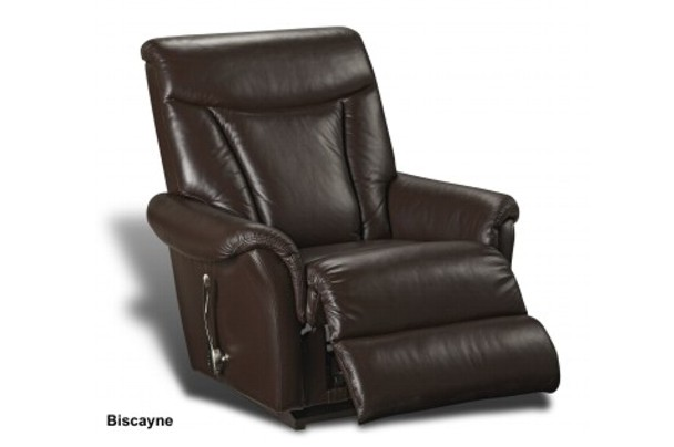 lazy boy chairs black folding chair covers wholesale new home furnishers » biscayne rocker recliner by la z