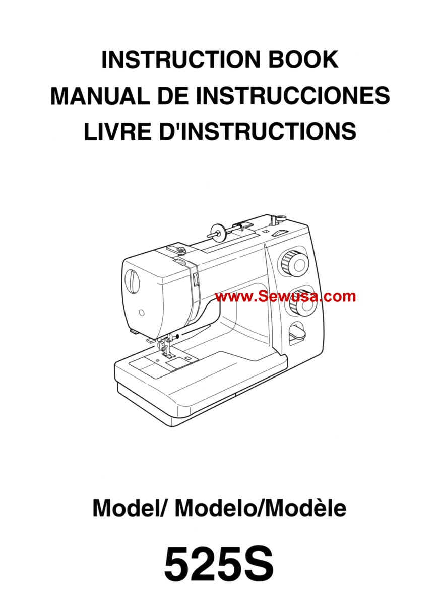 New Home Janome Instruction Manuals
