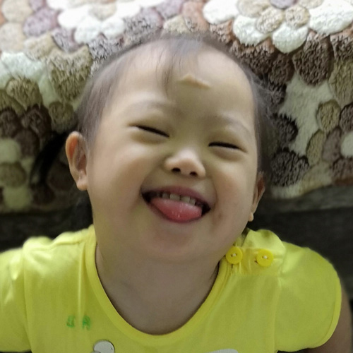 Pirena smiling