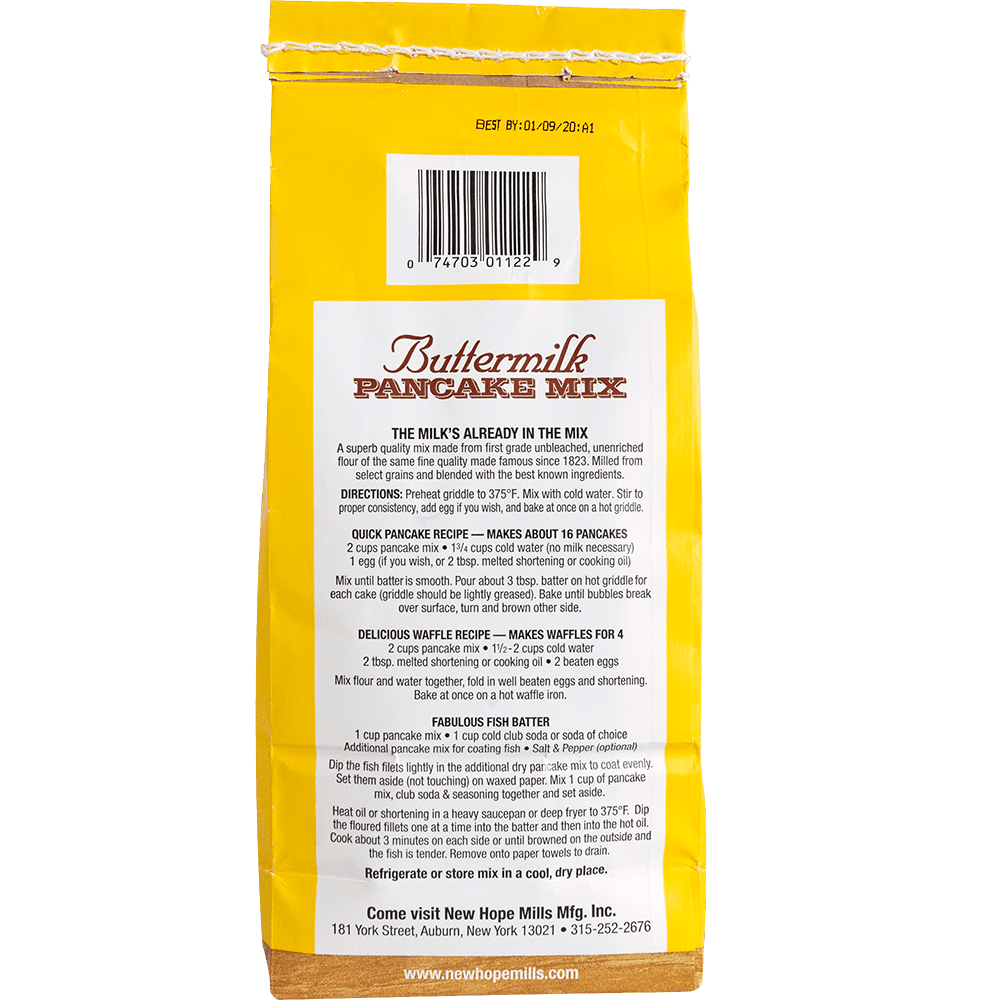 Buttermilk Pancake Mixes
