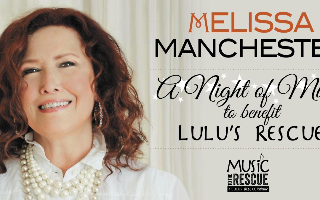 Melissa Manchester Live at The New Hope Winery: A Night of Music to Benefit Lulu's Rescue