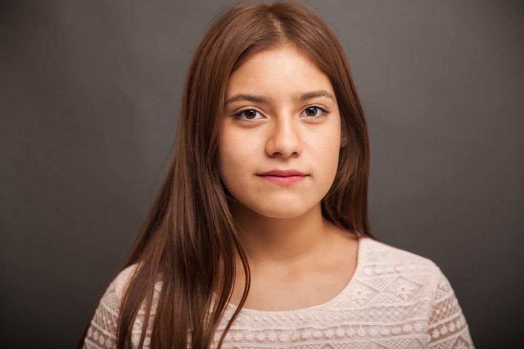 teenage hispanic girl