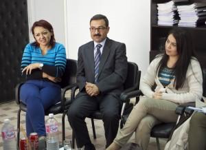 Sfax judges Wiem Ayadi, Faouzi Masmoudi and Nabiha Ayari,