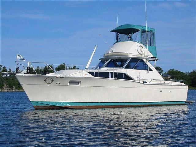 1970 Chris Craft Commander 35 Power Boat For Sale Wwwyachtworldcom