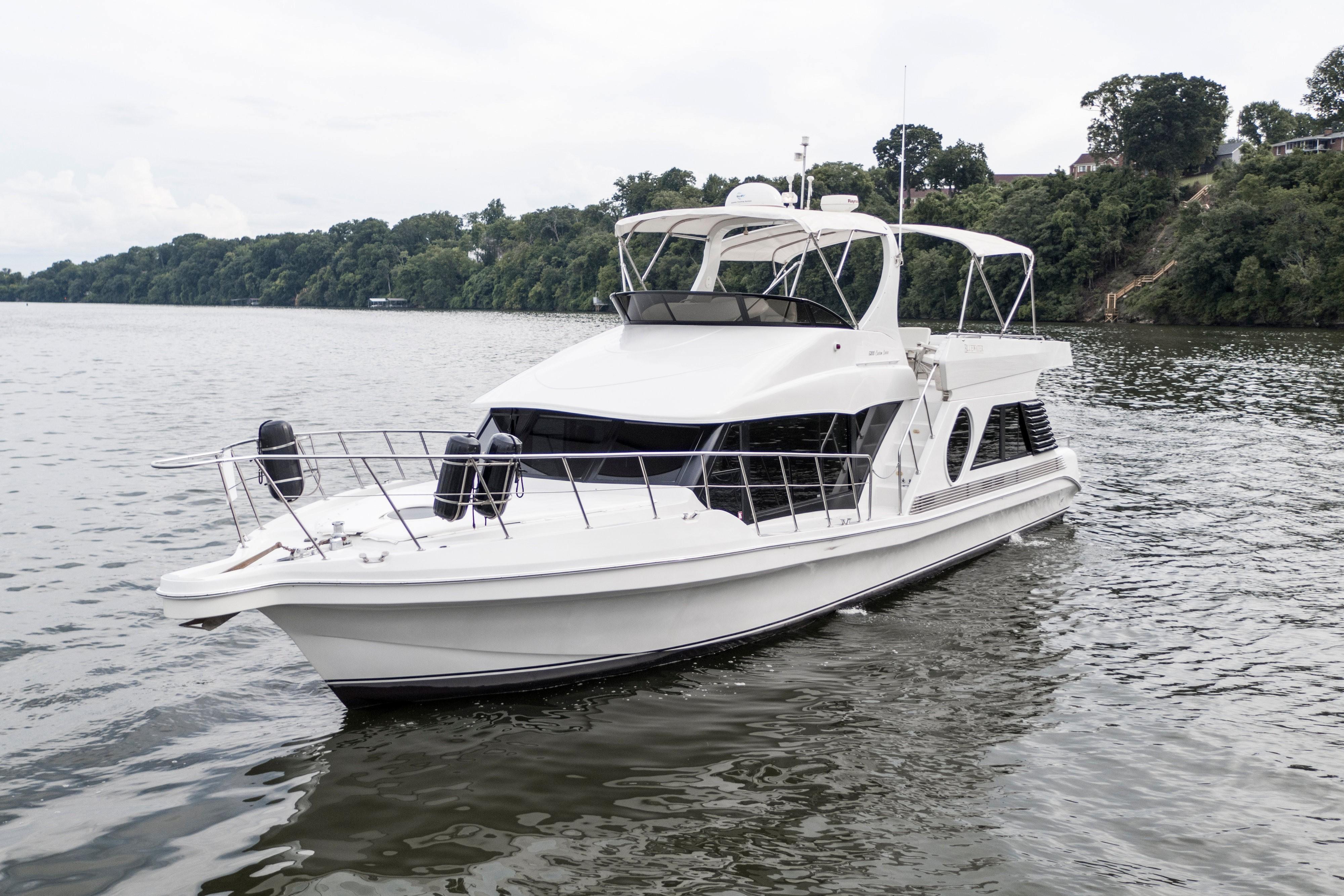 2002 Bluewater Yachts 5200 LE Custom Power Boat For Sale Wwwyachtworldcom