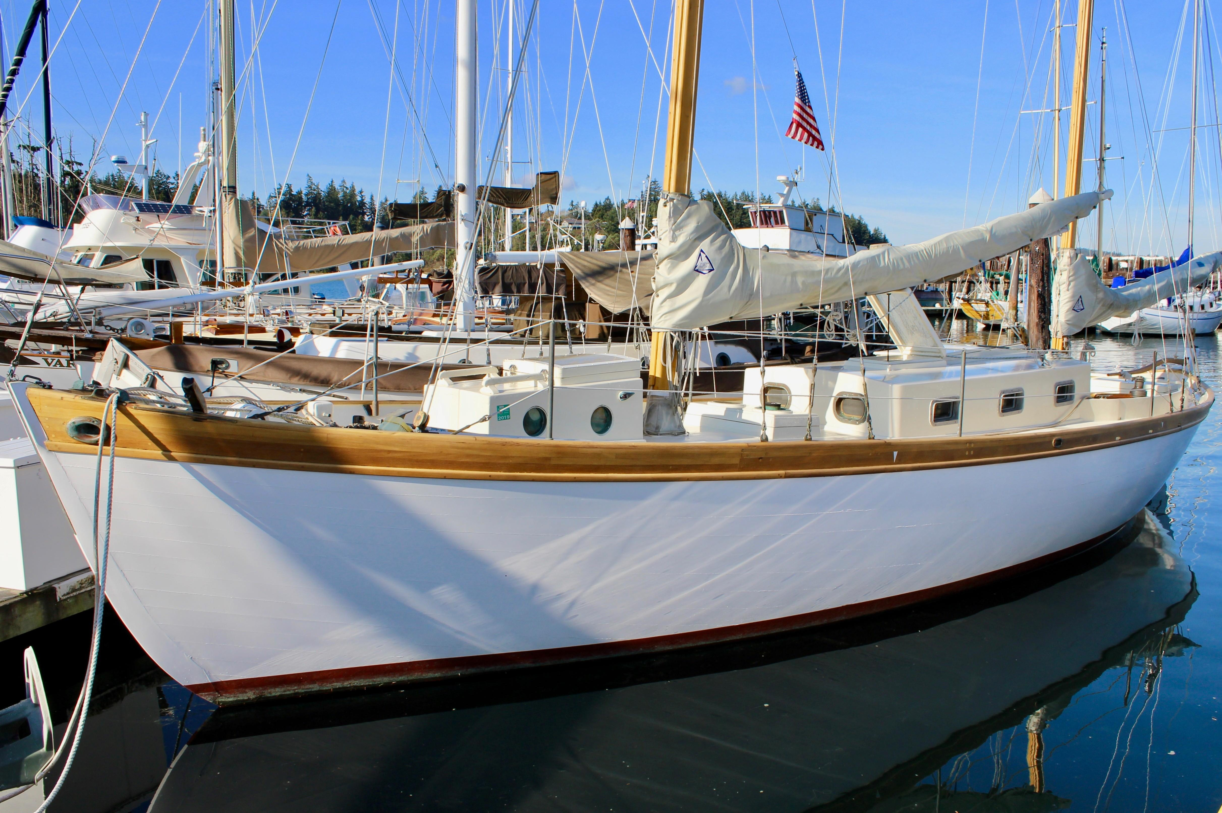 1964 Herreshoff 36 Sail Boat For Sale - www.yachtworld.com