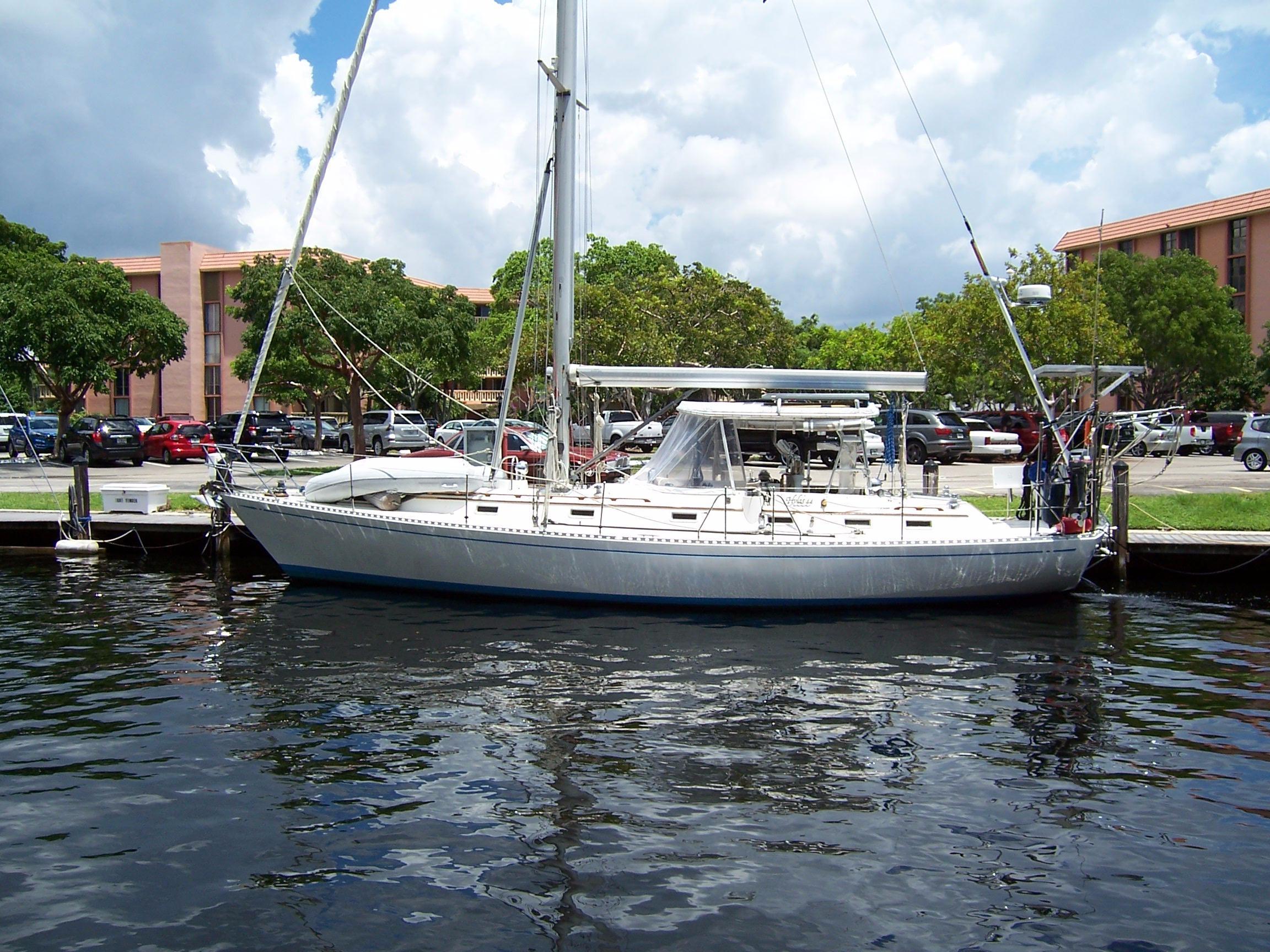 1987 Hylas 44 Center Cockpit Sloop Sail Boat For Sale