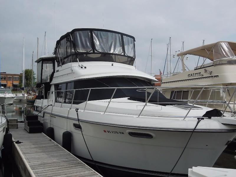 1990 Carver 38 Aft Cabin Power Boat For Sale Www