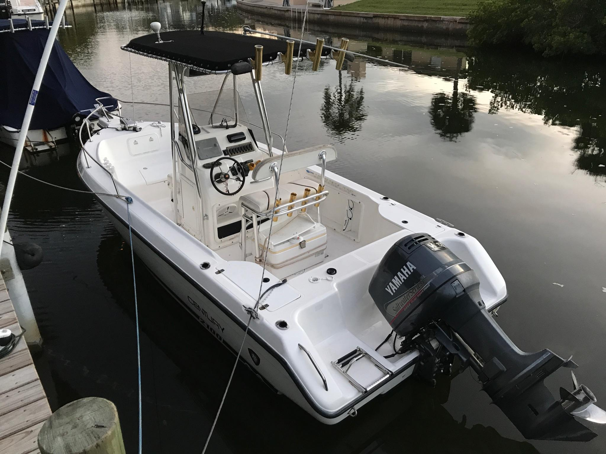2001 Century 2100 Center Console Power Boat For Sale Wwwyachtworldcom